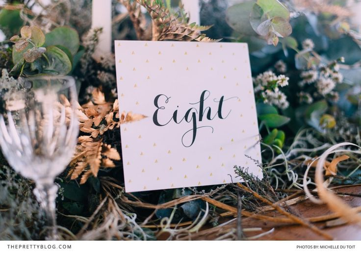 Neutral Simplicity | Styled Shoots | Wedding Table Decor Inspiration | Photographs by Michelle Du Toit Wedding Photography