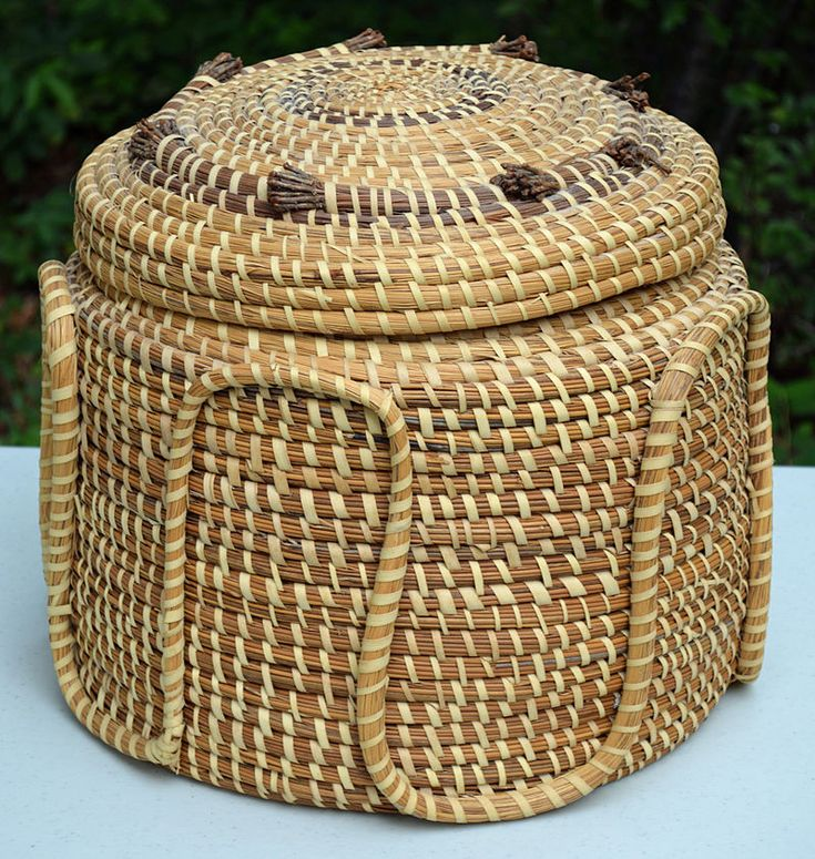 How To Weave A Sweetgrass Basket : Best sweetgrass baskets images on basket