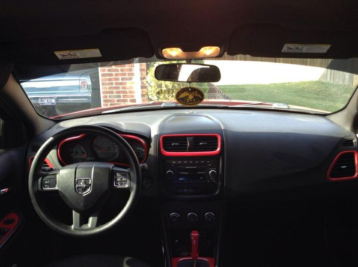 2012 Dodge Avenger custom dash