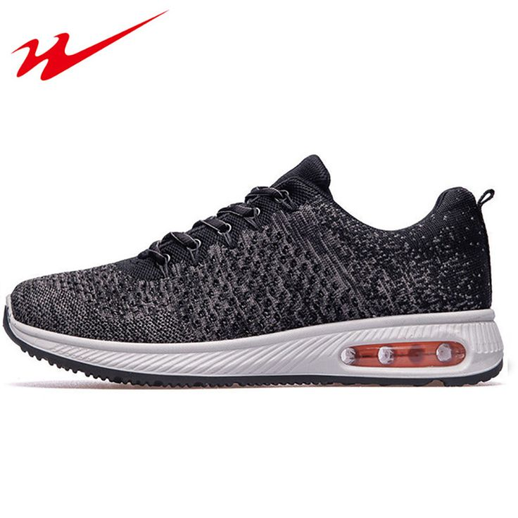 DOUBLESTAR MR Men Running Shoes Male Flyknit Breathable Sneakers Shoes Anti-slip Outdoor Sport Sneakers Zapatos Para Correr #Affiliate