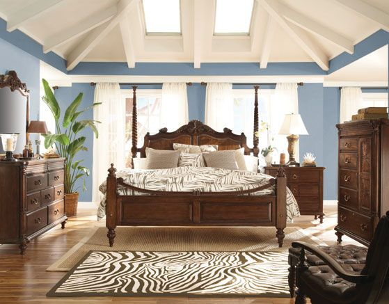 Grand Bedroom Set  Kincaid Moonlight Bay Bedroom Collection  Love It!