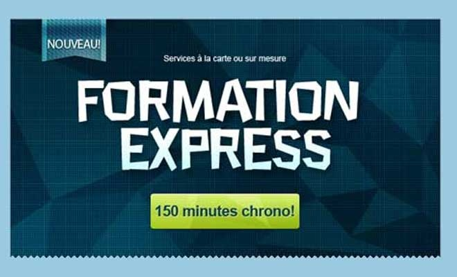 Formations offertes par Strategid  http://strategid.ca/formation.php#formation_express