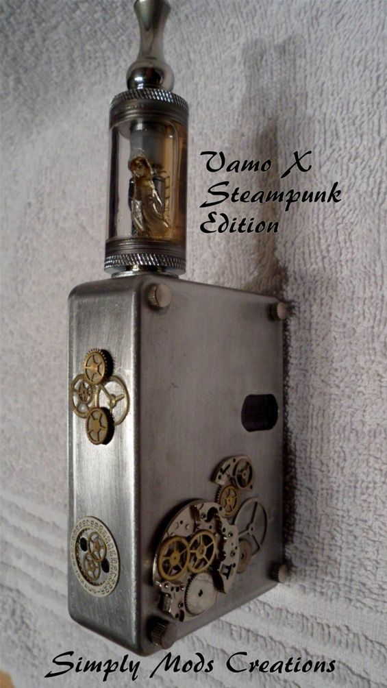 Steampunk Mods Please follow our boards for the Best in Vaping. Please journey to our websitore @ http://www.bluecigsupply.com