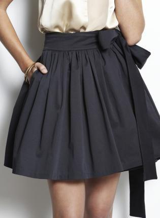 Oscar Wrap SkirtWrap Skirts, Full Skirts, Fashion Style, Clothing, Dresses, Black Skirts, Bows, Wraps Skirts, Pleated Skirts
