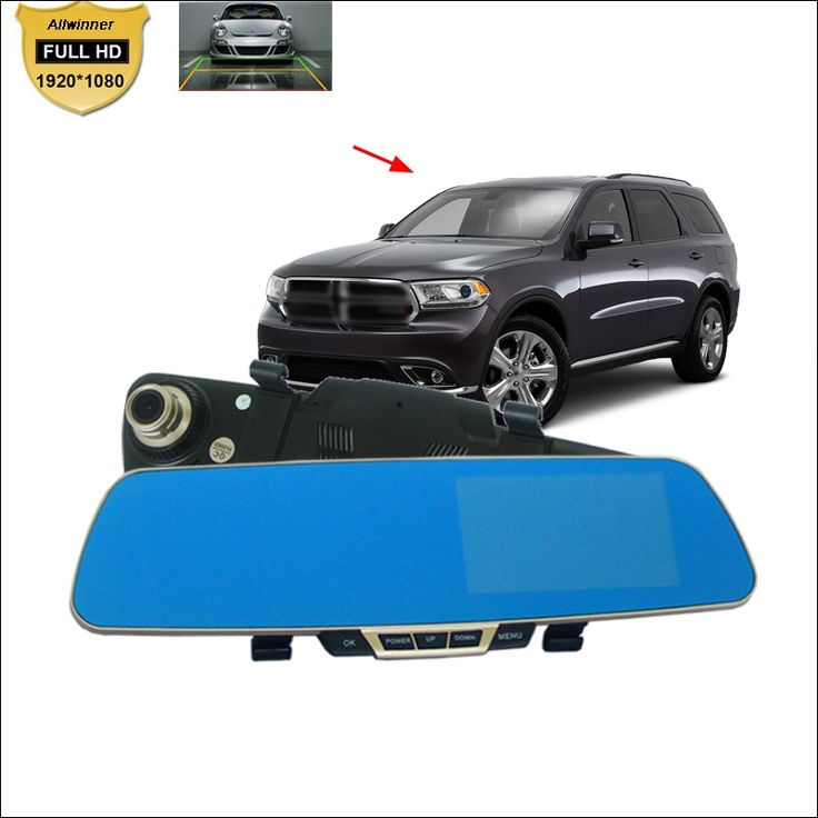 64.92$  Buy now - http://aliir7.shopchina.info/go.php?t=32769639321 - For dodge durango Car DVR Car Dual Camera Blue Screen Rearview Mirror Video Recorder 5 INCH parking monitor Camcorder fhd 1080P  #aliexpressideas