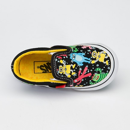 Vans Yo Gabba Gabba shoes   I want these for my nephew...and i really dislike this show, lol