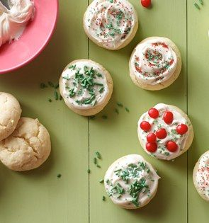 Check out this delicious recipe for Cheesecake Cookies from 25 Merry Days at Kroger!