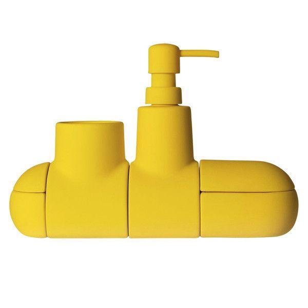 Yellow Submarine Bathroom Set