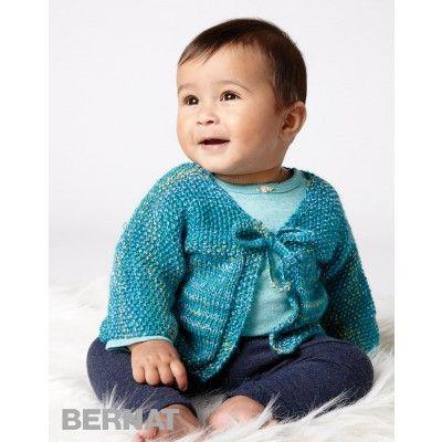 Free Easy Baby Cardigan Knit Pattern