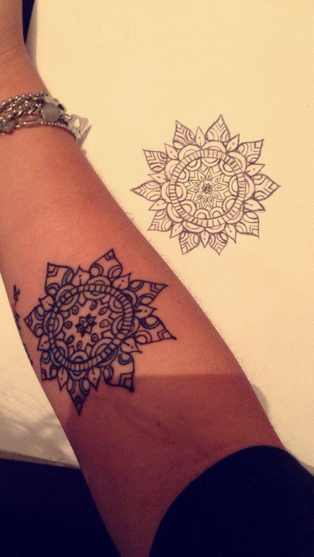 #mandala #tatuaje #tattoo