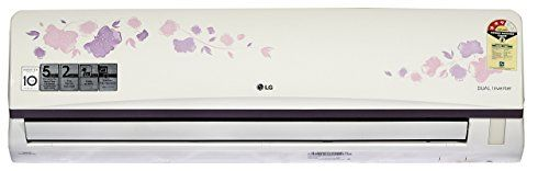 LG JS-Q18AFXD 1.5 Ton 3 Star Dual Inverter Split AC (Alloy, White) with standard installation at Rs 499*
