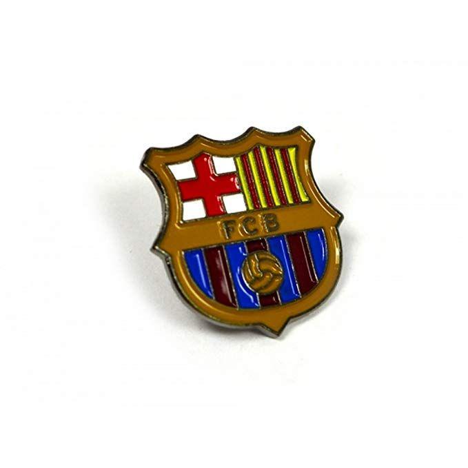 FC Barcelona Official Football Pin Badge