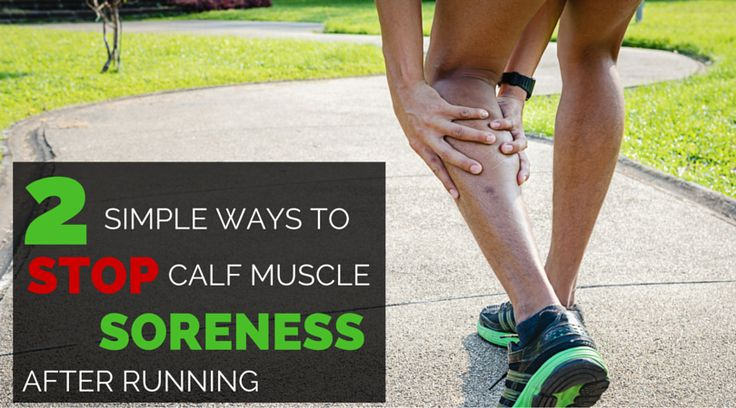 Sore calf muscles after racing can make a runner miserable, but these two tips to prevent a sore calf will help a lot!