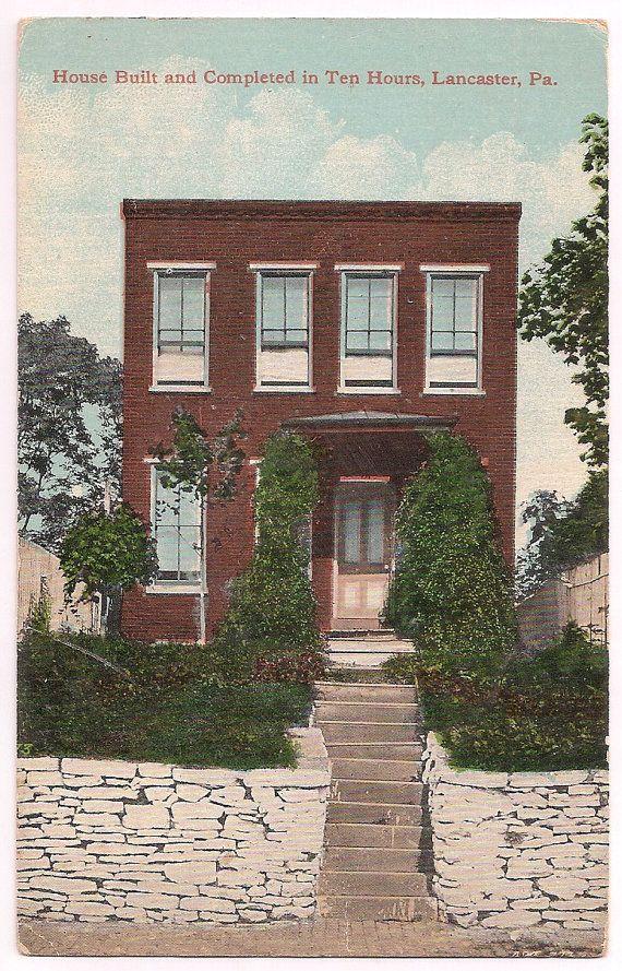 17 best images about antique postcards vpr on pinterest antiques parks and antique christmas - Houses built inhours ...