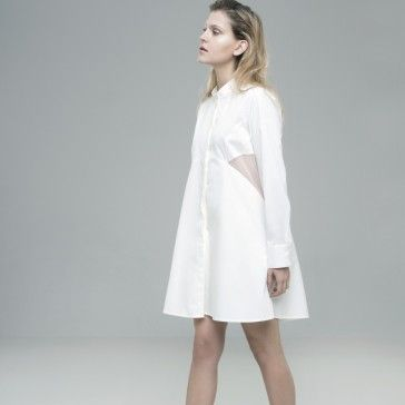 White, clean & minimal shirt by PUCH