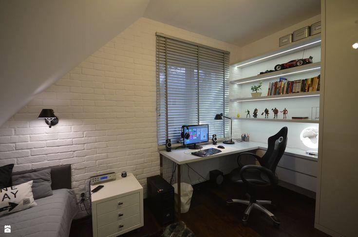 Biała cegła w pokoju dziecięcym - zdjęcie od BJM Bricks - Pokój dziecka - Styl Nowoczesny - BJM Bricks