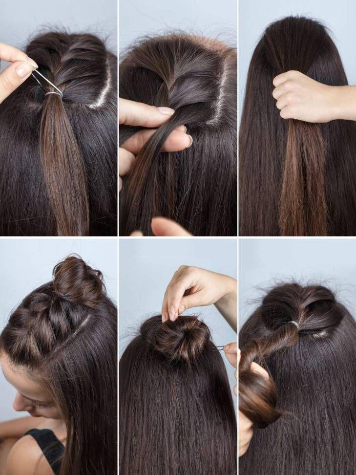 Frisuren Diy und Tutorial für alle Haarlängen 202