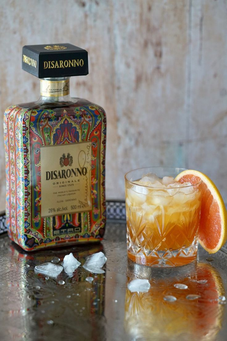 A Delicious Cocktail Recipe. This Disaronno And Grapefruit Cocktail Is Quick And Easy To Make And Tastes Incredible!