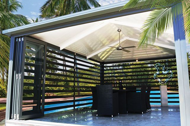 Stylish and Durable Gazebo roofing. Make a statement and transform your outdoor area. With the right gazebo you can turn your garden into your very own private retreat or party...