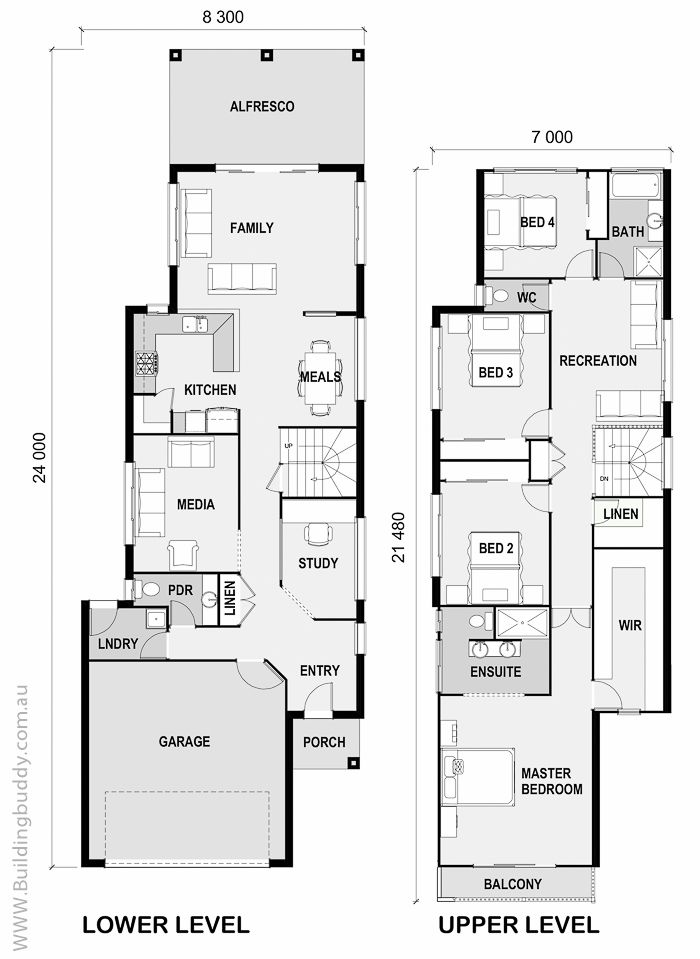 Small Lot House Plan Compact Yet Spacious Narrow Home Design Packs It All In For An Affordable Price