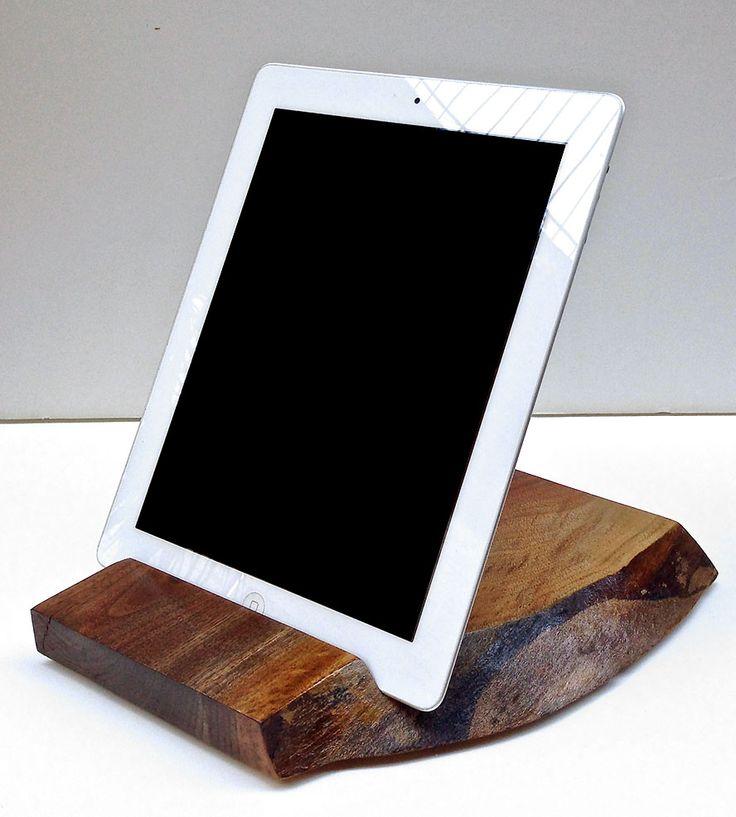 Walnut Wood iPad Stand