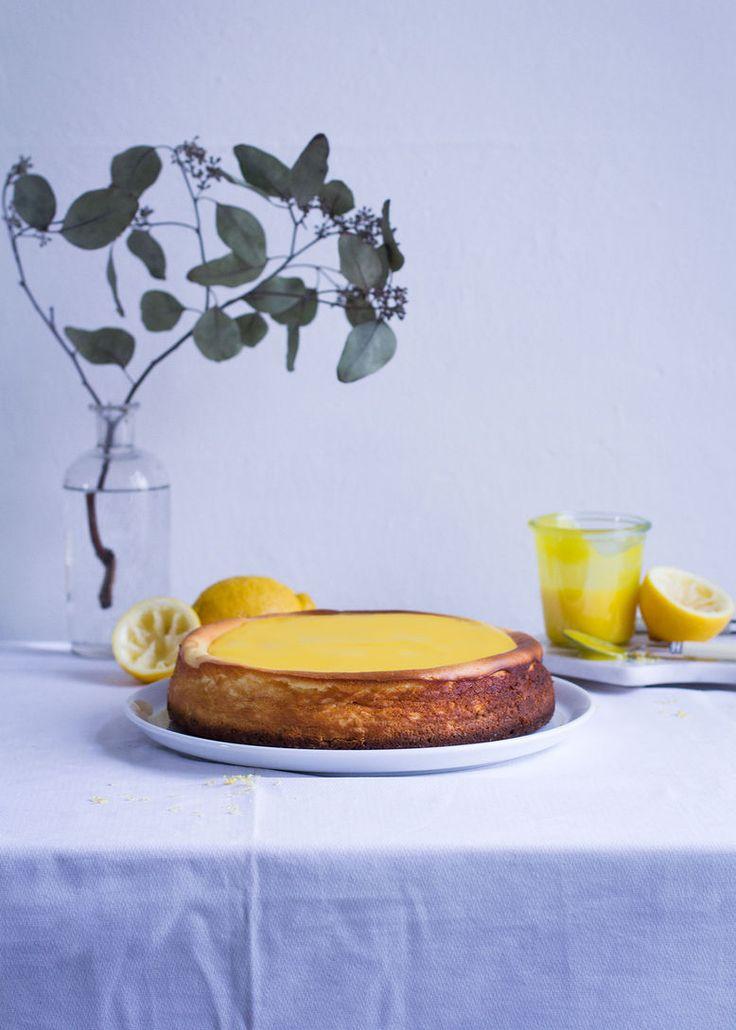 Cheescake mit Lemon Curd