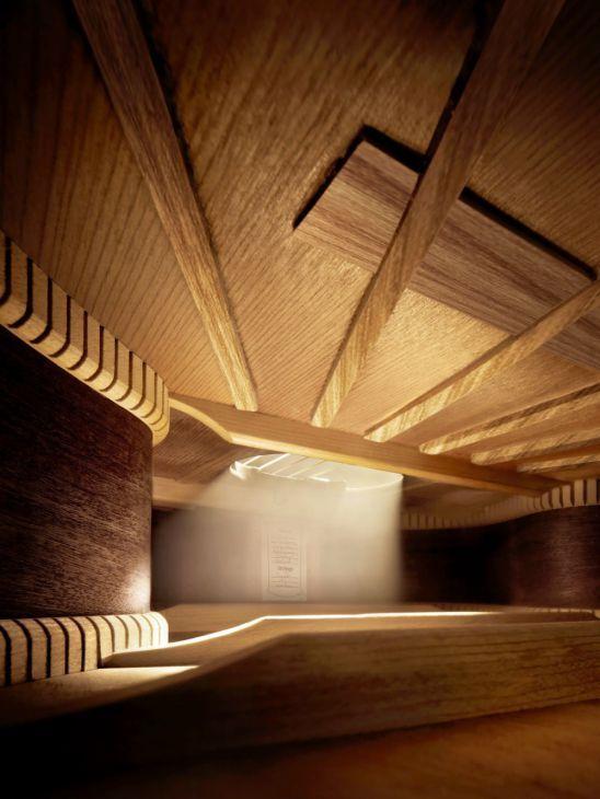 Στο εσωτερικό μιας κιθάρας