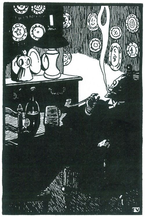 ART & ARTISTS: Félix Vallotton - part 5 - woodcuts (2)