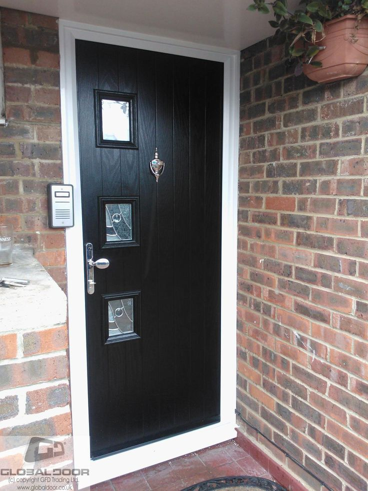 A selection of recently fitted doors to real homes throughout the UK Design price and order any door online available as supply only or fully fitted from ... & 15 best Doors images on Pinterest | Black composite door Black door ...
