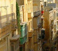 Mediterráneo, Valletta, Casas