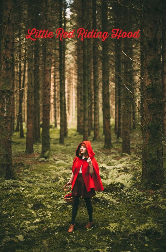 Fairytale Ethereal || Little Red Riding Hood - http://www.aclotheshorse.co.uk/