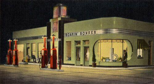 Roarin' Rohrer, Oklahoma's most beautiful station on U S  270