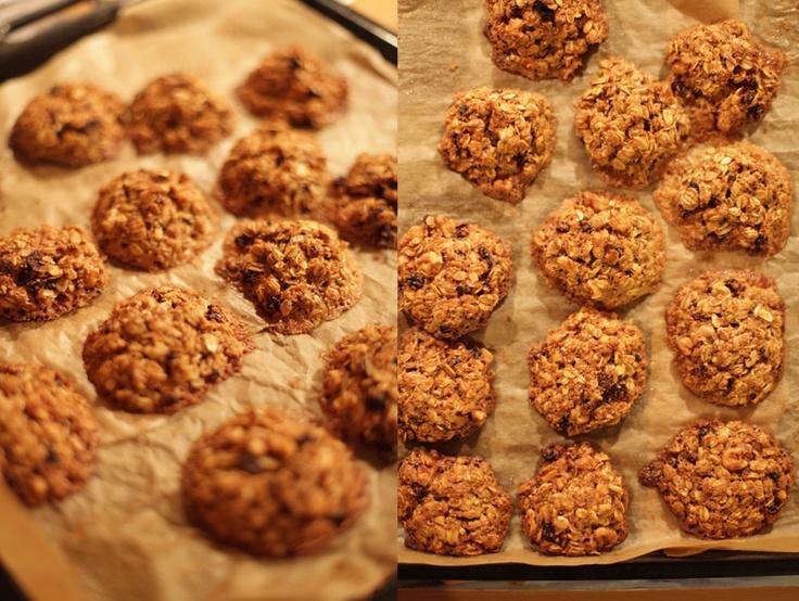 Foodmess: Zdrowe ciasteczka owsiane.Płatki Owsian, Ciasteczka Owsian, Fancy Food, Futurystyczn Ciastka, Zdrowe Ciasteczka