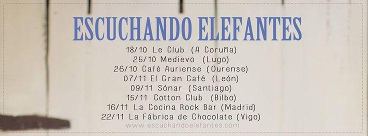 Escuchando Elefantes @ Cafe Cultural Auriense - Ourense música concerto concierto