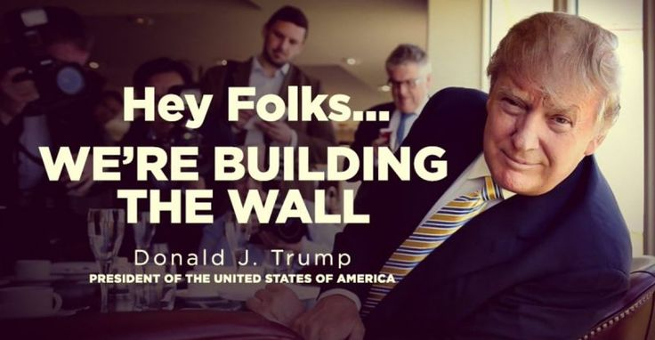 BREAKING : The Trump Train Reacts to Wall Construction Starting NOW – TruthFeed