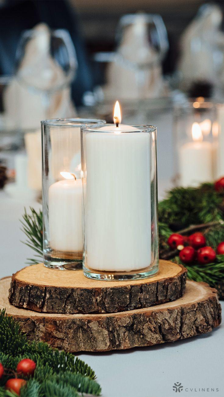 Basswood Slab Slice 9 To 10 Round Natural In 2020 Winter Wedding Receptions Winter Wedding Centerpieces Rustic Winter Wedding