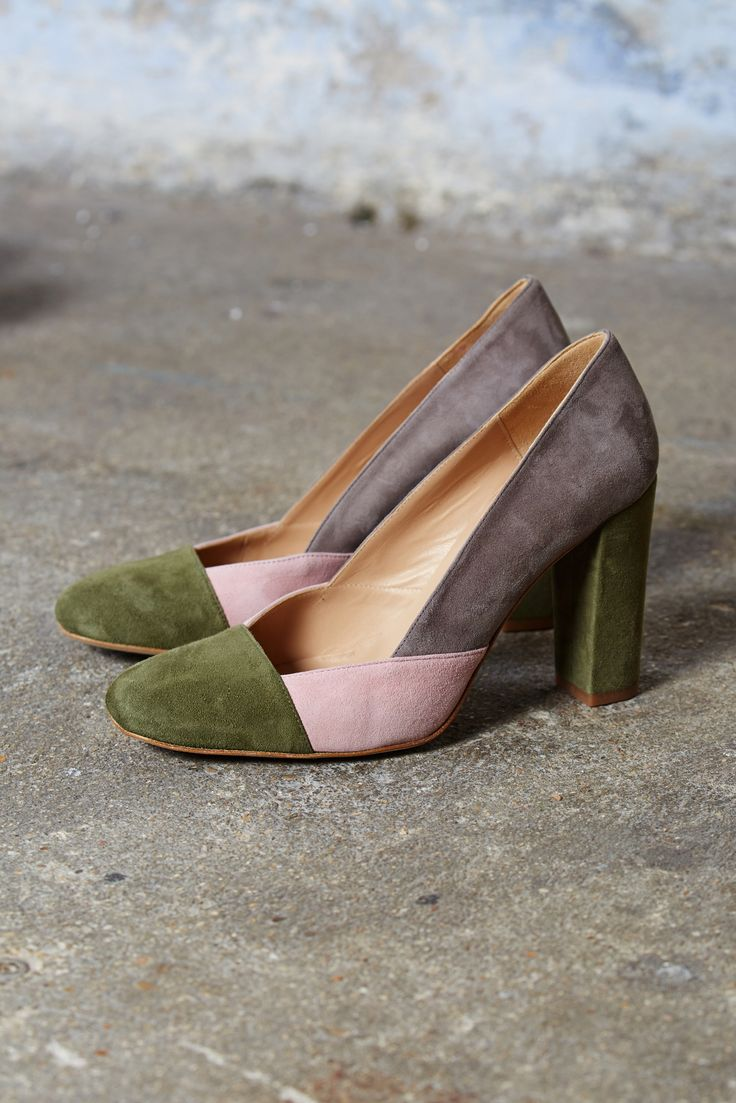 Escarpins Madeleine kaki
