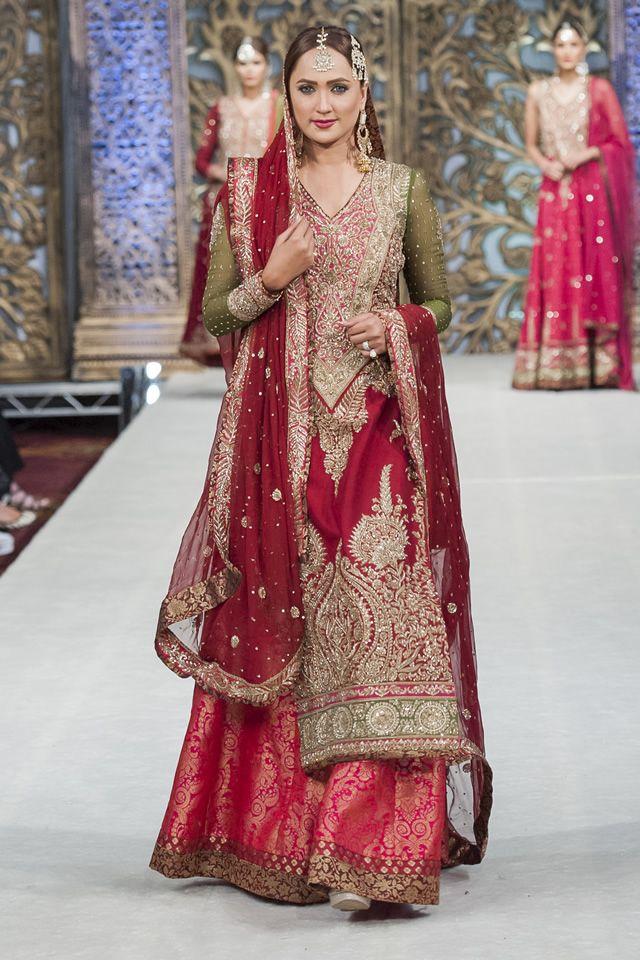 Zaheer Abbas Bridal Collection at Weddings of Asia 14