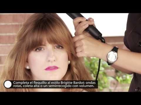 ¡Consigue un flequillo de los años 60's como el de Jessica Chastain! - YouTube