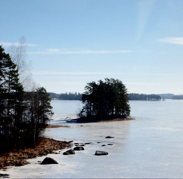Täällä on luonto kannatta suojelu  samalla retki nauttia rauhallinen luonnon elämän