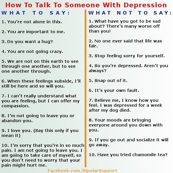 Advice For Dating Someone With Depression