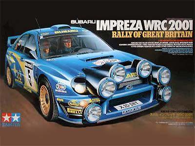 Boxart Subaru Impreza WRC 24250 Tamiya