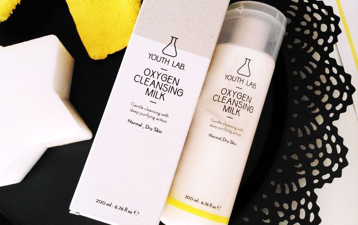 YOUTH LAB. Oxygen Cleansing Milk - a complete review by Martina Kappa