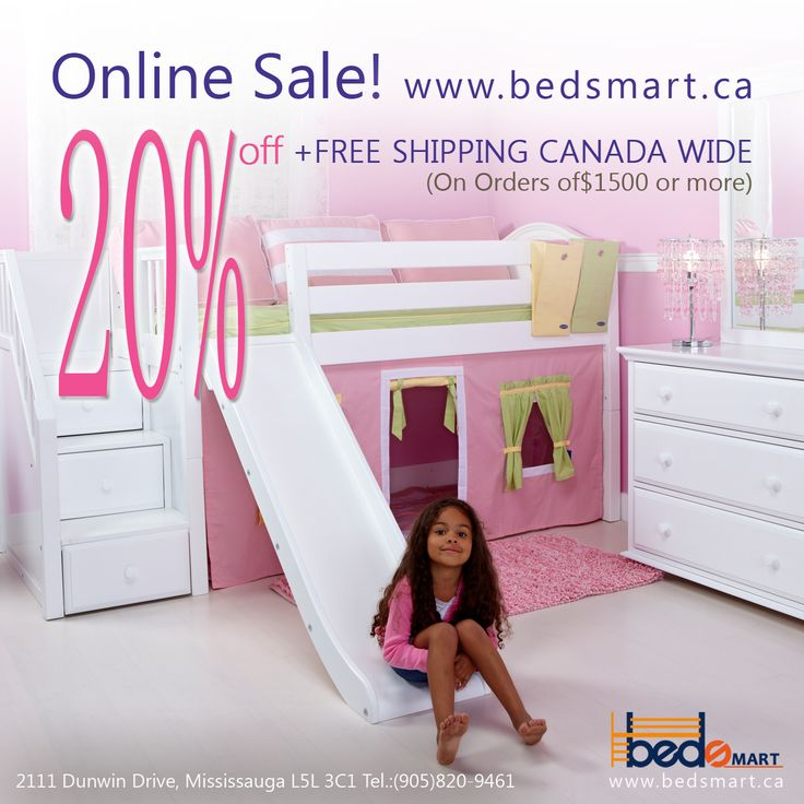 Do you like Maxtrix Beds?  Order today and Get 20% Off on all BEDSMART Furniture & Free Shipping Canada Wide.