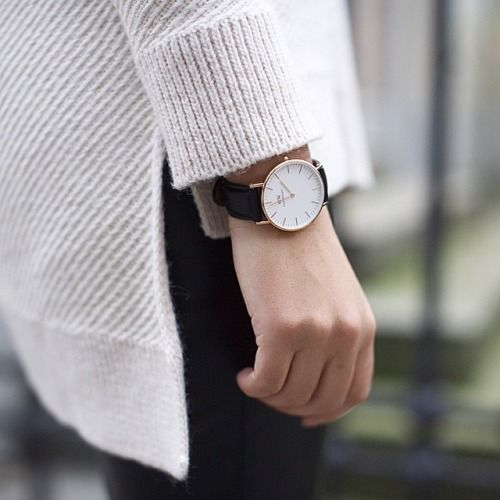 Get 15% off all products at www.danielwellington.com/us using the promo code EINALEM  until June 15, 2015