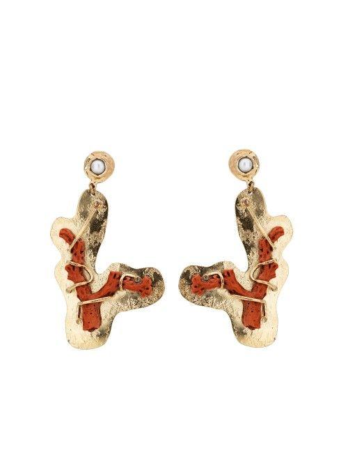 GAS BIJOUX / BOUCLES DOREILLE FORMENTERA #gasbijoux #bouclesdoreille # earring #fashion #accessories #mode #paris #chic #bymariestore
