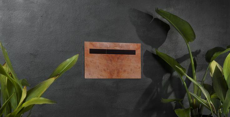 #Letterbox Front/back Buzon Blanca Copper Buzb06 #postbox #mailbox