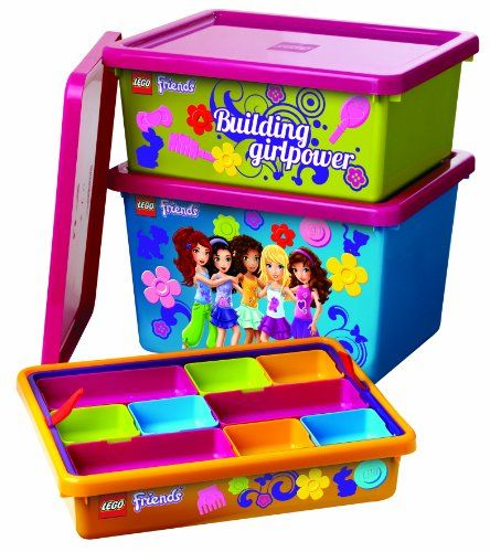 LEGO Friends Sorting System for Storage, Lime Green LEGO http://www.amazon.com/dp/B00G3BT4GG/ref=cm_sw_r_pi_dp_1QJJtb1JKBC3QJ62