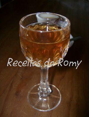 Receitas da Romy: Licor de especiarias