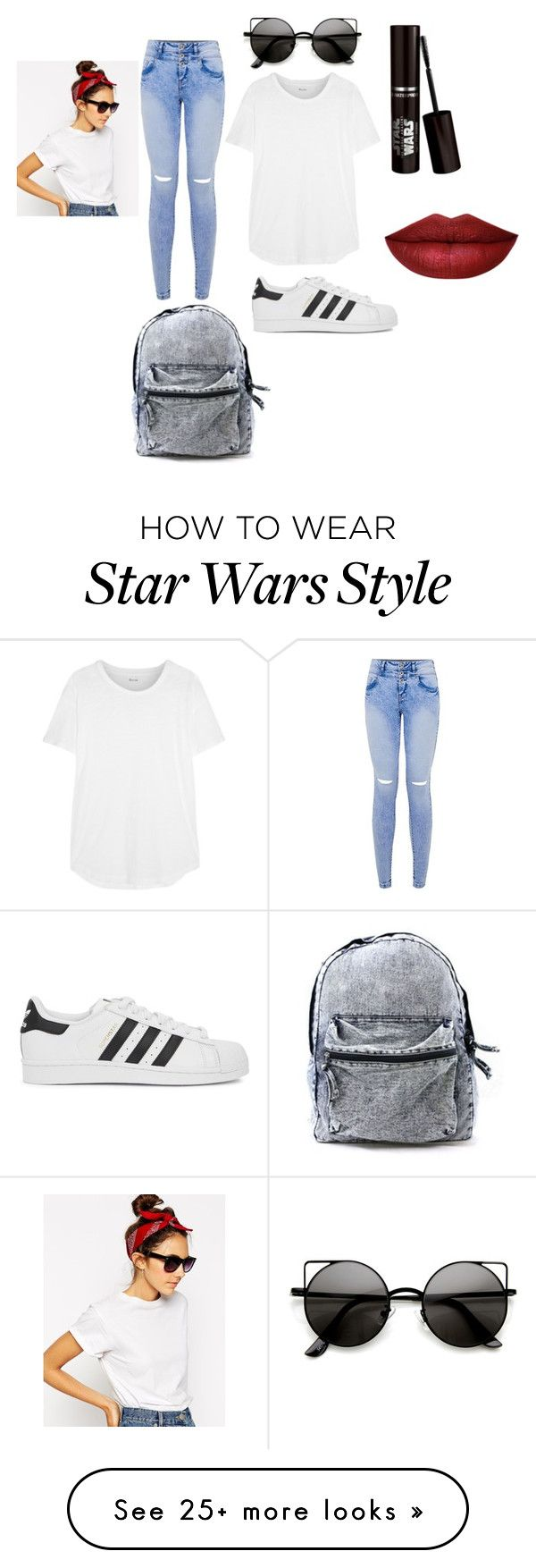 """Vintage Date"" by skittles-0512 on Polyvore featuring adidas Originals, ASOS, Madewell and vintage"